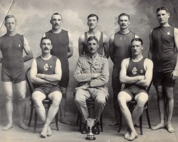DCLI Water polo team in 1913