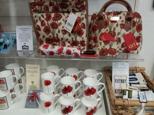 Gift shop at Cornwall's Regimental Museum