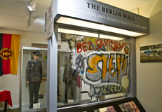 The Berlin Wall at Cornwall's Regimental museum
