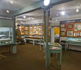 A view of the Gallery at the museum