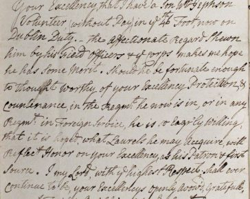 A letter to Lord Townsend