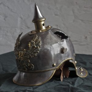 A German picklehaubes helmet