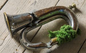 Silver plated bugle