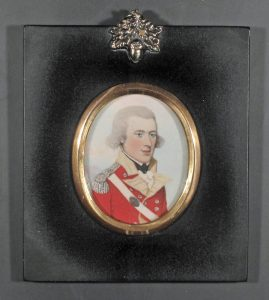 Officer of the 46th regiment of foot. Circa 1790