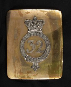 A breast plate from the 32nd regiment