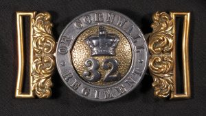 A Buckle belt from the 32nd regiment