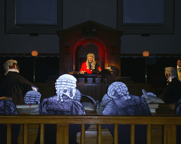 Bodmin's Shire Hall - Court room experience