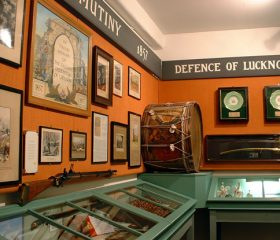 An area of the Museum dedicated to The Indian Mutiny/Defence of Lucknow.