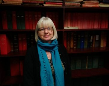Deborah Vosper, Research Team member at Cornwall's Regimental Museum
