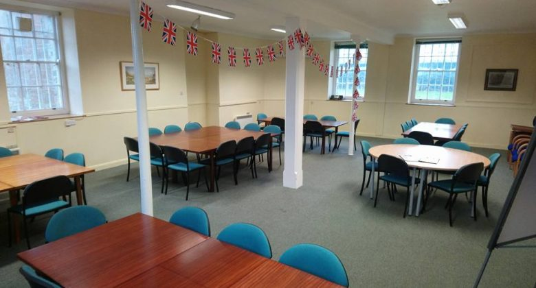 Large Meeting Room at Cornwall's Regimental Museum