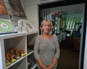 Linda Sawyer Volunteer at Cornwall's Regimental Museum