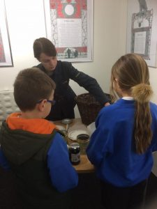 St Petrocs School Visit to Cornwall's Regimental Museum - Home Front Day