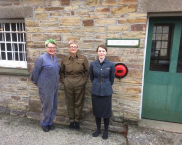 Home Front - School Visits at Cornwall's Regimental Museum