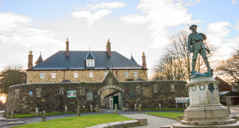 The regimental Depot of the DCLI, now housing Cornwall's Regimental Museum