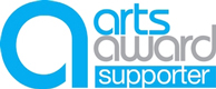 Logo for the Arts Award Supporter