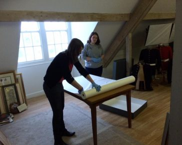 Behind the scenes - Collections Manager Verity - Cornwall's Regimental Museum