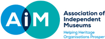 The Logo for the Association of Independent Museums