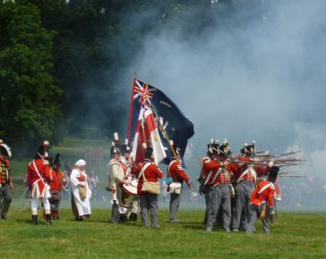 32nd Cornwall Regiment of Foot historical re-enactment group