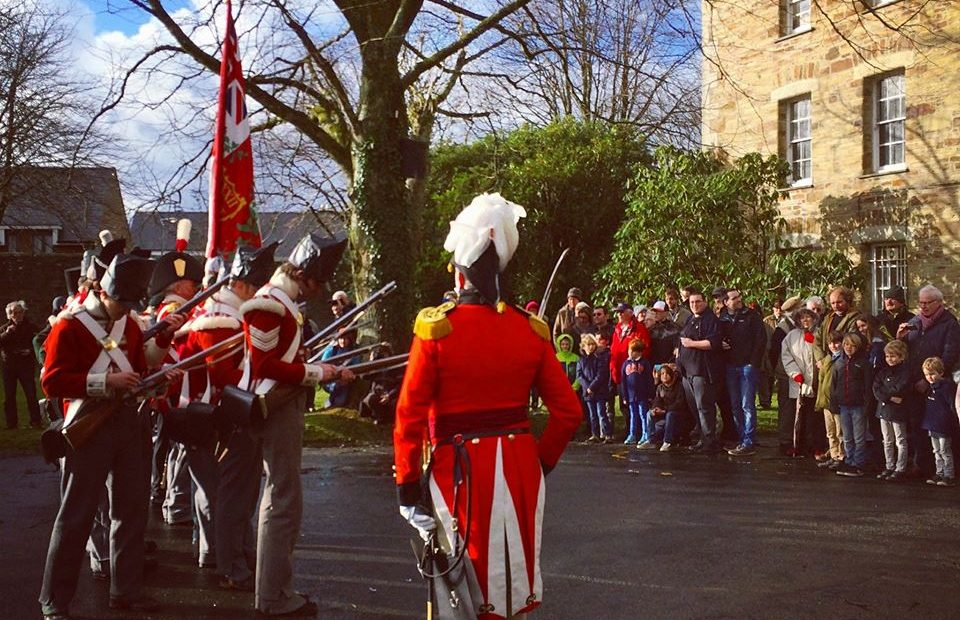 Join The 32nd Cornwall Regiment of Foot for their Napoleonic Era Drill Practice Day at Cornwall's Regimental Museum