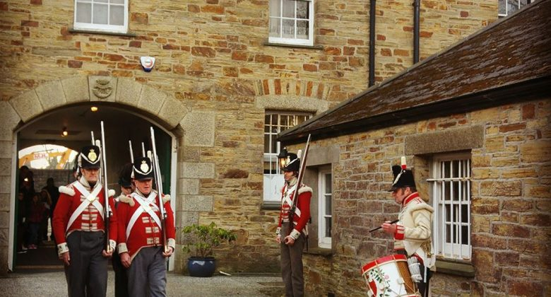 Marching with the 32nd Regiment of Foot at Cornwall's Regimental Museum