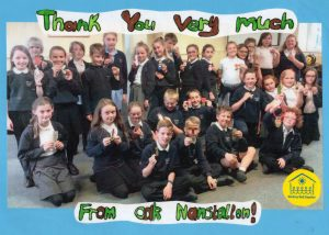 Thank you from Nanstallon School!