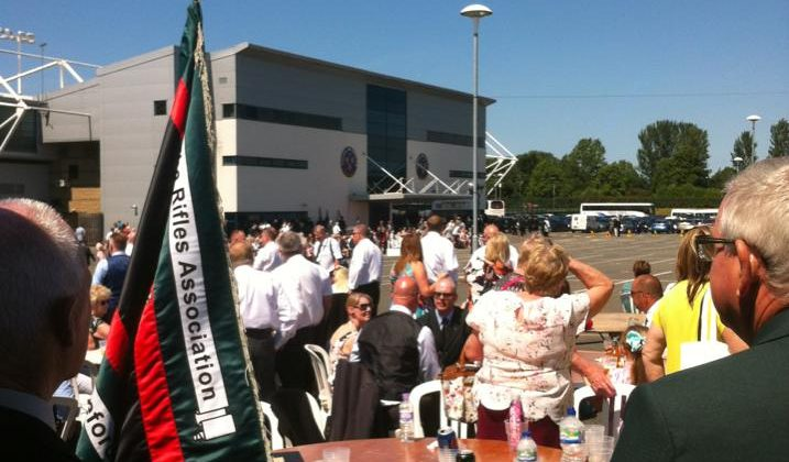 The Light Infantry and The Rifles Reunion in Shrewsbury