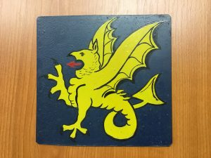 43rd (Wessex) Divisional Insignia from the former 5 DCLI Old Comrades Association at Cornwall's Regimental Museum
