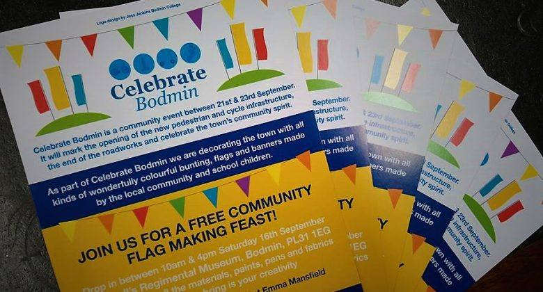 Celebrate Bodmin - Flag Making at Cornwall's Regimental Museum
