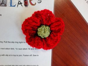 Cornwall's Regimental Museum fun palaces 2017 - Poppies for the DCLI