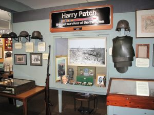 The current Harry Patch Display at Cornwall's Regimental Museum