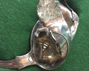 Lucknow Silver at Cornwall's Regimental Museum