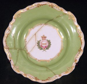 A Plate from the Officers' Mess at Lucknow - 32nd Regiment of Foot