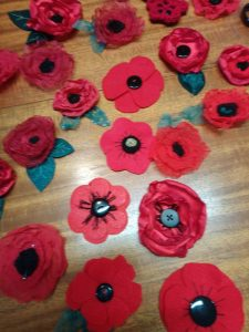 Cornwall's Regimental Museum's Handmade Poppy Project