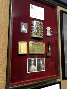 Princess Mary's Christmas Gift, on display at Cornwall's Regimental Museum
