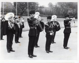 2LI Bugle competition winners 1988 - Light Infantry Collection at Cornwall's Regimental Museum
