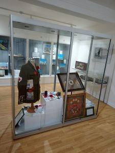 'A Coat for Wilfred Owen' New exhibition including artwork from Delabole School, on display at Cornwall's Regimental Museum