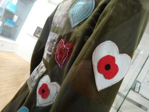'A Coat for Wilfred Owen' New exhibition including artwork from Delabole School