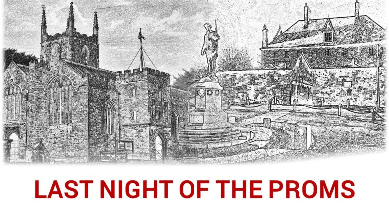 Last Night of the Proms at St Petroc's Church, in aid of Cornwall's Regimental Museum