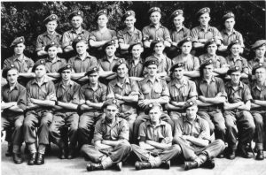 Matthew O'Connor DCLI - 2nd row from Front, 3rd from Right