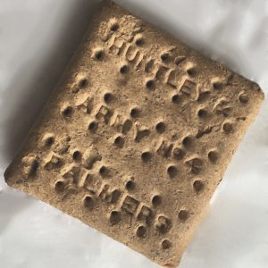 Object of the Month - WW1 Huntley & Palmers Biscuit