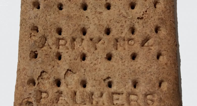 Huntley & Palmers WWI hardtack biscuit