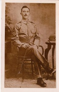 Richard Trembeth was one of 7 serving brothers from Bodmin during the First World War.