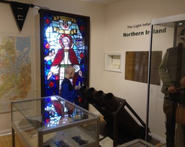 Northern Ireland - The Light Infantry collection at Cornwall's Regimental Museum