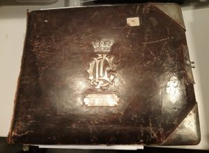 This photo album was presented to the Officers of the 2nd Battalion DCLI by Capt. A st C Holbrook 'on leaving, 31st October 1903'