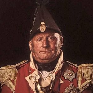 Trevor Jones of the 32nd Cornwall Regiment of Foot from 'Unseen Waterloo' the Conflict revisited, by Sam Faulkner.