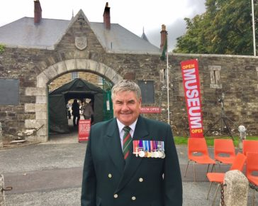 LI Reunion, Bodmin Keep, Jesse James, Royal Green jackets, Light Infantry, DCLI, Cornwalls Regimental Museum