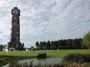 Flaoting Dreams Tower, Ypres, WW1 Commemoration.