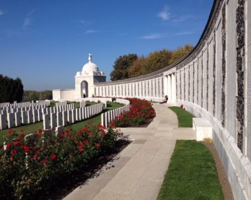 Tyne Cot, Cemetary, Ypres, WW1