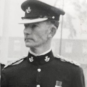 Major Hugo White, Bodmin keep. Cornwalls Regimental Museum