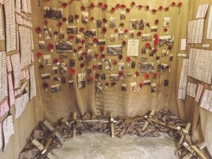 Trench Room, Poppy Tribute, Bodmin Keep, Cornwall's Regimental Museum